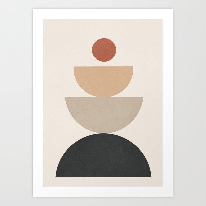Geometric Modern Art Poster From Society6